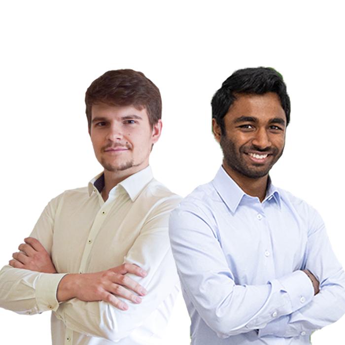 Michael Walter Osbeck und Sagithjan Surendra